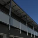 """""""Auvent de balcon vitré"""", Oeuvre Finalisée"""